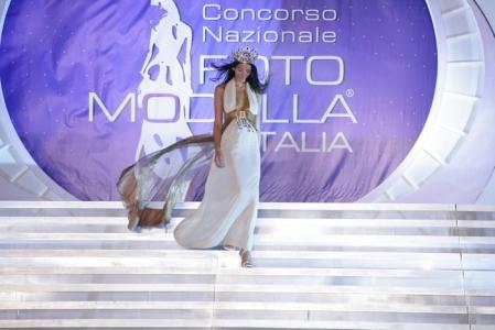 La vincitrice del concorso Fotomodella d'Italia