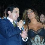 Barbara Chiappini con il Patron Antonio Panico