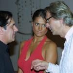 Vittorio Sgarbi con il Patron Antonio Panico